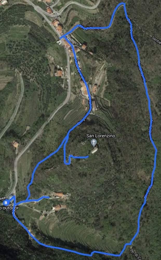 Anello escursione San Lorenzino
