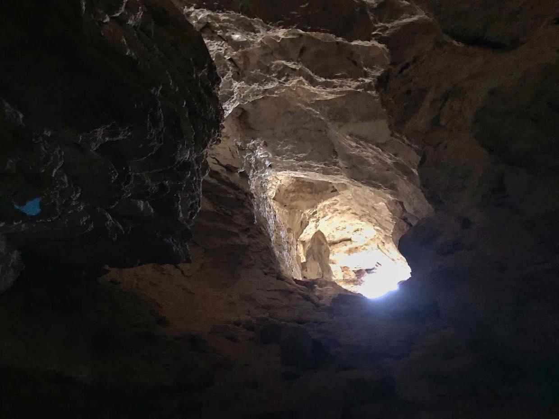 Grotta Strapatente ingresso sud