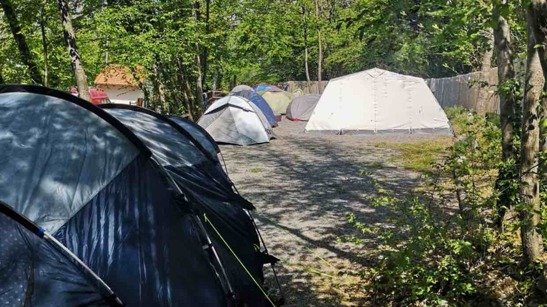 tende base camp cucco